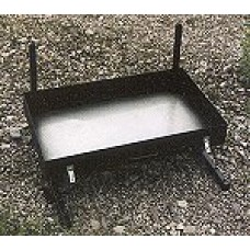 Partner Steel 24″ Fire Pan plus Grill and Lid