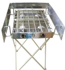 Cook Partner 18″ Stove Stand & Windscreen