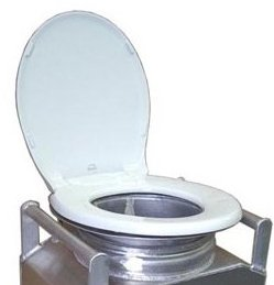 Partner Steel Toilet Adapter Ring