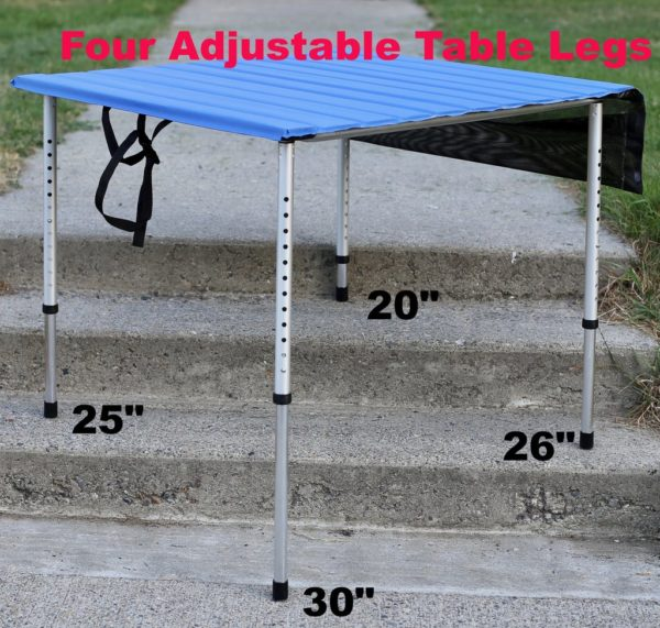 Swell Camp Time Roll A Table Camping Table With Adjustable Legs 30 Beutiful Home Inspiration Aditmahrainfo